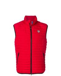 Мужская красная стеганая куртка без рукавов от Rossignol