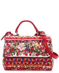 Детская красная сумка для девочке от Dolce & Gabbana