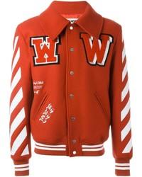 Красная университетская куртка