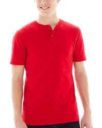 красная футболка на пуговицах original 2599719