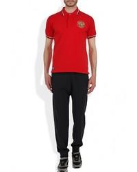 Мужская красная футболка-поло с принтом от Atributika & Club™
