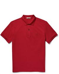 Красная футболка-поло