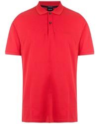 Мужская красная футболка-поло от BOSS