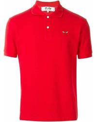 Мужская красная футболка-поло от Comme des Garcons