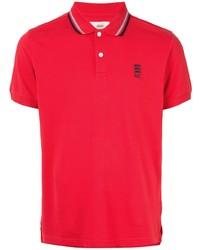 Мужская красная футболка-поло от Kent & Curwen