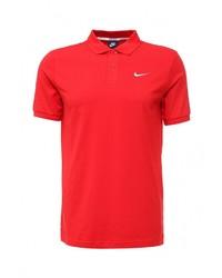 Мужская красная футболка-поло от Nike