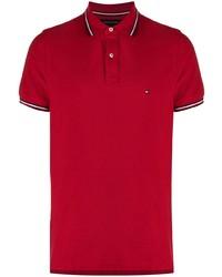 Мужская красная футболка-поло от Tommy Hilfiger