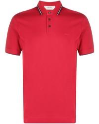 Мужская красная футболка-поло от Z Zegna