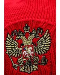Мужская красная шапка с принтом от Atributika & Club™