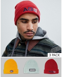 Мужская красная шапка от Analog