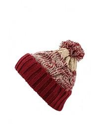 Женская красная шапка от Billabong