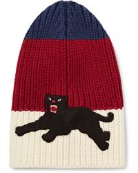 Мужская красная шапка от Gucci