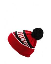 Мужская красная шапка от New Era
