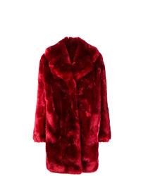 Красная шуба от La Seine & Moi