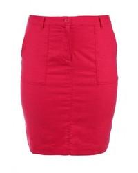 Красная юбка-карандаш от Baon