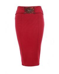 Красная юбка-карандаш от Versace Jeans