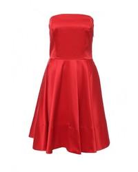 Женское красное вечернее платье от Be In
