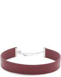 Женское красное колье от Jennifer Zeuner Jewelry