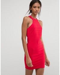 Женское красное облегающее платье от Club L