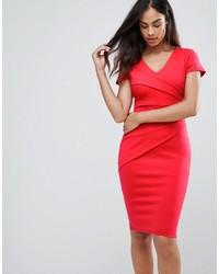 Женское красное облегающее платье от Jessica Wright