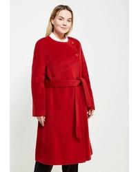 Женское красное пальто от Gamelia
