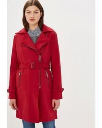 Женское красное пальто от Incity