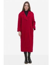 Женское красное пальто от Pavel Yerokin