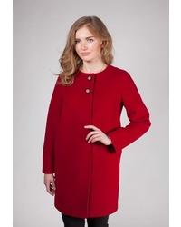 Женское красное пальто от Shartrez