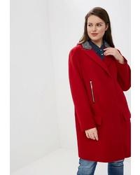 Женское красное пальто от Trifo