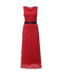Красное платье-макси от Aurora Firenze