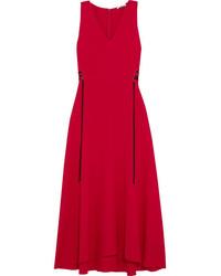 красное платье миди original 9932818