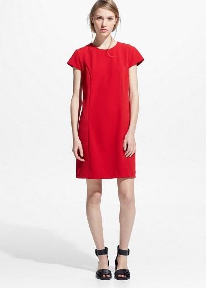 f8290fb3b2e Прямое Платье Красное Фото