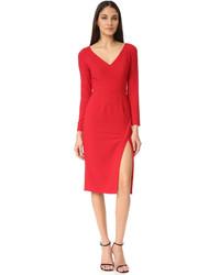 Женское красное платье-футляр от Black Halo