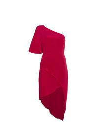 Женское красное платье-футляр от Haney
