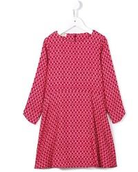 Детское красное платье для девочке