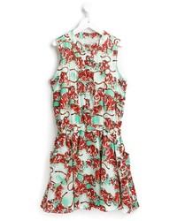 Детское красное платье для девочке от Kenzo