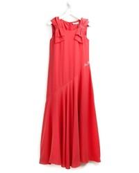 Детское красное платье для девочке от Miss Blumarine