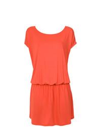 Красное пляжное платье от Lygia & Nanny