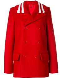 Женское красное полупальто от Givenchy