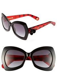 Красно-черные солнцезащитные очки