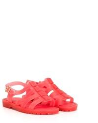Детские красные босоножки для девочке от Mini Melissa