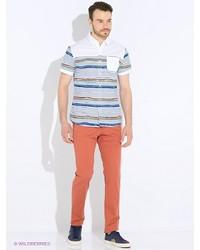 Красные брюки чинос от Mango Man