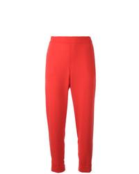 Женские красные брюки чинос от P.A.R.O.S.H.