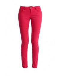 Женские красные джинсы скинни от Baon