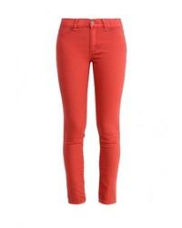 Женские красные джинсы скинни от Jennyfer
