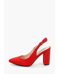 Красные замшевые туфли от Clowse