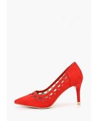 Красные замшевые туфли от Dorothy Perkins