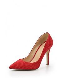 Красные замшевые туфли от Versace 19.69