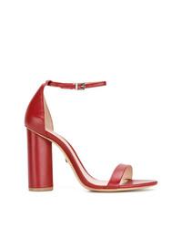 b41e2fa085f2 Купить красные босоножек на каблуке Schutz - модные модели босоножек ...