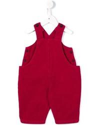 Детские красные комбинезон для мальчику